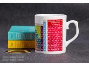 Mug Cup for Geek Programmers glass ceramic mug of coffee cup chemical element periodic table Creative gifts 9SIA6M85502569