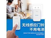 38 Ringtones Wireless Cordless Remote Doorbell Door Bell Chime No need battery Waterproof 110 220V