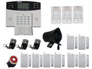 Generic FDL-450 Wireless Intelligent Home Security Alarm System with Lcd Display Gsm
