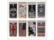 For Sony Xperia ZR M36h Phone case ,New Painting Hard PC Plastic Phone Case For Sony Xperia ZR C5502 C5503 M36h+Screen protector