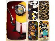 Cool Cartoon TV Despicable Me Yellow Minions Mikey Phone Cases Covers For Samsung Galaxy Core Prime G3608 G3606 G360 Case Cover