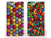 New Arrival Wow M&M's Chocolate Candies Style Hard Phone Cases Covers For Sony Xperia Z1 Mini Z1 Compact Case Cover Shell