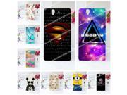 20 Patterns Transparent Side Hard Case For Sony Xperia Z L36h Case Cover For Sony L36h Phone Case+Free Stylus Pen Gift