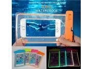 Waterproof Durable Water proof Bag Noctilucent Underwater case For iPhone IPhone 5/5S/5C/6/6 plus iPod touch 5 phone back cover