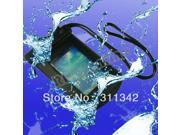 NEW Univeral IPX8 Waterproof Dry Pouch Bag Case Cover Underwater for  cell phone PDA  Iphone  4 4S  5 5S 5G 5C 6  Ipod touch