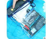Durable Water proof Bag Underwater back cover Casesealed Waterproof The large capacity Digital camera waterproof phone pouch