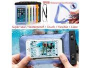 100% sealed Waterproof Case Durable Water proof Bag Underwater back cover For iPhone IPhone 5/5S/5C/6 4.7 iPod touch 5phone case