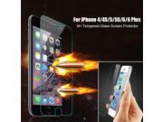 Promotion Hot Genuine 9H Tempered Glass Film Screen Protector Film for iPhone 4/4S/5/5S/6 4.7 inch/6 Plus 5.5 inch 9SIAAWS46N1148