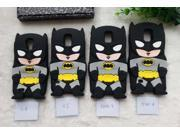 Cute 3D Cartoon Batman Soft Silicone Case Cover For Samsung Galaxy S3/S4/S5/Note 3/Note 4 /i9300/i9500 Capa Silicon Phone Cases 9SIAC8552G5836