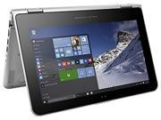 2015 Newest HP Pavilion x360 2-in-1 Touch-Screen Convertible Laptop (Intel Quad-Core Pentium N3700, 4GB RAM, 500GB HDD, 11.6-inch HD IPS WLED Multitouch Display, Bluetooth, HDMI, Windows 10, Silver)