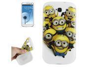 Despicable Me Happy Minions TPU Case Samsung Galaxy S3 / i9300 9SIA6RP27B9480