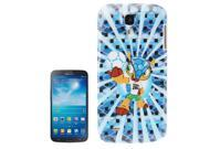 Football World Cup Mascot Pattern Smooth Plastic Case for Samsung Galaxy S4 / i9500 9SIA6RP27B8961