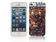 Plastic Protective Case with Tiger Head Pattern for iPhone 5/5S 9SIA6RP2C52551