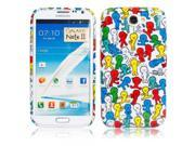 TPU Glitter Protective Case with Colorful Doll Pattern for Samsung Galaxy N7100 9SIA6RP2C55306