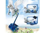 3-in-1 Educational DIY Solar Energy Pegasus and Chariot Toy