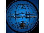 JG 777-284 3 Channel Infrared Remote Control RC Quadcopter UFO UFO Black