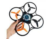 JJRC JJ600B 600B 4 CH 2.4GHz 6 Axis Gyro LED RC Quadcopter (Mode 2) with 0.3MP Camera Black