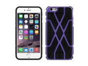 Spider-man Series Plastic + TPU Combination Case for iPhone 6 Plus(Purple) 9SIA6RP2VN8538