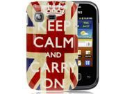 Retro England Flag Plastic Protection Case for Samsung Galaxy Pocket / S5300