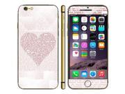 Heart Shape Pattern Mobile Phone Decal Stickers for iPhone 6