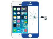 LOPURS 0.3mm Silk-screen Explosion-proof Full Screen Tempered Glass Film for iPhone 5 & 5C & 5S (Dark Blue) 9SIA6RP2WC9636
