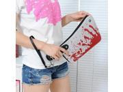 Creative Blood Kitchen Knife Design Handbag Blood Cooking Knife Shape Bag
