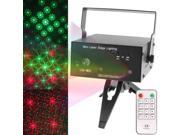 2-color Holographic Anime Laser Stage Lighting Fireworks Projector with MP3 Function / LED Light / Remote Control & Dynamic Liquid Sky, Support USB Flash Disk & Sound Active / Auto-mode (Black)