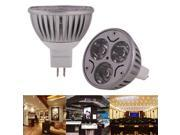 3 x 1W High Quality LED Energy Saving Spotlight Bulb, Base type: MR16  (Warm White) 9SIA6RP3558753