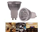 4 x 1W High Quality LED Energy Saving Spotlight Bulb, Base type: GU10  (Warm white) 9SIA6RP3558840