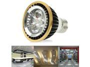 4W / 320LM High Quality Insert Aluminum Material Warm White Light LED Energy Saving Light Black Bulbs, Base Type: E27 9SIA6RP3558812