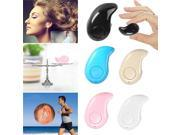 Mini S530 Wireless Bluetooth V4.0 In-ear Stealth Stereo Earphone Headset With Microphone For IPhone Samsung Smartphone (Black)