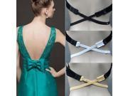 Low Back Bra halved Belt Extender Hook Adjustable Converter Strap Nude 9SIA6RP38B9596