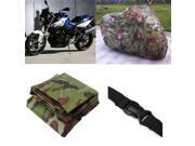 Motorcycle Bike Rain Dust Cover Outdoor UV Protector XXL Camouflage