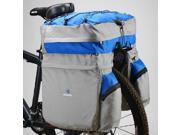 Large Triple Rear Pannier Luggage Bag Waterproof Cover For ROSWHEEL Blue