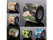 5cm x 4.5m Kombat Army Camo Wrap Sports Shooting Hunting Camouflage Stealth Tape 04