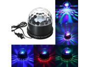 48 LED RGB Voice-activated Crystal Magic Ball Effect Stage Lighting KTV Club Disco Party 9SIA6RP3AM3195
