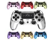 Chrome Skin Housing Protective Shell Case Cover For Sony Play Station 4 PS4 Controller Purple