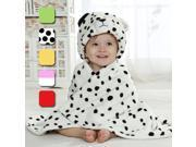 Cute Animal Cartoon Baby Infant Wrap Parisarc Soft Flannel Blanket Quilt Bathrobe Leopard