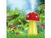USB Aroma LED Water Purification System Mini Mushroom Lamp Humidifier Blue