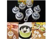 Creative Boil Egg Mould 6 Egg Boiler With Egg White Separator Cooking Tool