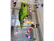 Parrot Cage Toys Standing Rope Parrot Holder Rotation Ladder Stand Staircase