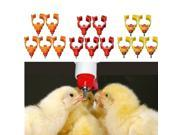Chicken Nipple Water Drinker Watering Poultry Feeder 360° Angle 9SIA6RP3BX8978