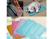 Cooling Pad Heat Absorb Hot Flush Mat Cold Cooler Pillow Pet Computer Pink