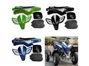 Fairing Kit Complete Plastics Set For Mini Quad Bike ATV With Seat Black