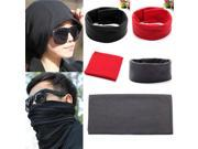 Multi Bandana Face Mask Neck Warmer Headband Scarf Snood Wrap Black 9SIA6RP3CV8868