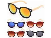 Fashion Handmade Bamboo Legs Eyewear UV400 Sunglasses Glasses Leopard 9SIA6RP3CV8892