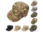 Unisex Hunting Tactical Military Patrol Cap Equipped Camouflage Flat Hat #5