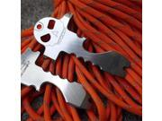 Multifunction Nail Puller Bottle Can Opener Screwdriver for Outdoor Camping Hiking