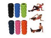 Exercise EVA Grid Yoga Foam Roller Massage Muscle Fitness Pink