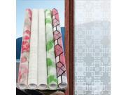Decorative Window Sticker Dull Polish Casement Privacy Stained Glass Film Rose 9SIA6RP3F05849